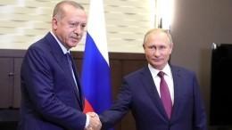 Эксперт: договор между Путиным иЭрдоганом приведет кмиру вИдлибе