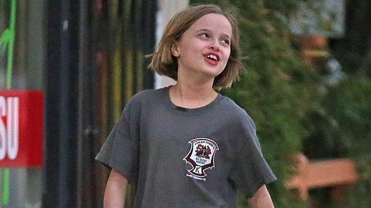Еще одна дочь Анжелины Джоли перестала носить юбки
