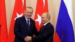 Коалиция воглаве сСША приветствует соглашение Путина— Эрдогана поСирии