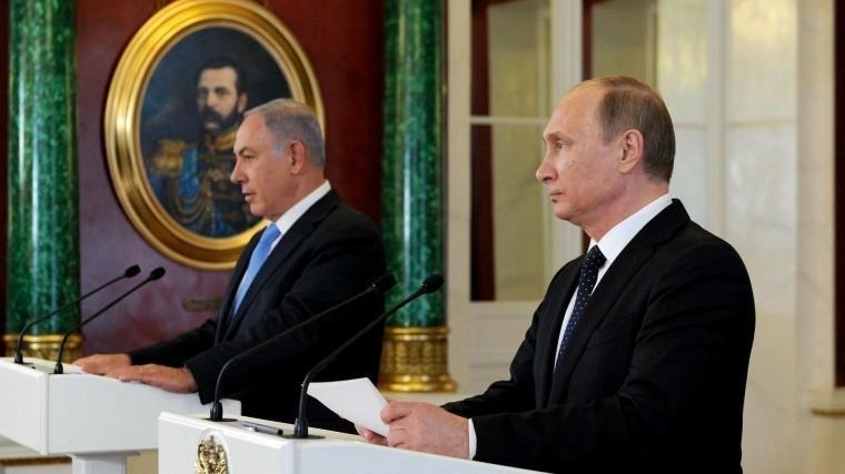 Сбитый Ил-20 стал темой телефонного разговора Путина иНетаньяху