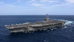 ВСредиземное море вошла авианосная ударная группа американских ВМС