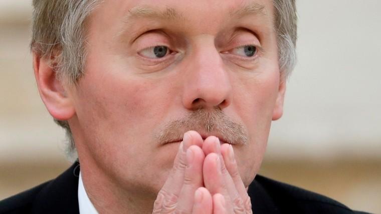 Песков: Вситуации сИл-20 Путин доверяет только Минобороны РФ