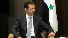 Башар Асад выразил соболезнования Путину всвязи скрушением Ил-20