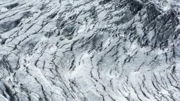 Видео: ледник Купол Вавилова согромной скоростью сползает вморе вАрктике