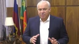 Глава Хакасии Зимин ввидеобращении объяснил причины ухода вотставку