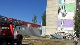 Вдоме вТамбовской области обрушились балконы— спервого попятый этаж