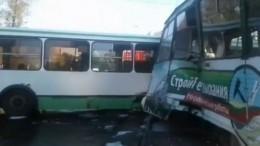 Четыре человека пострадали при столкновении автобуса страмваем вИркутске