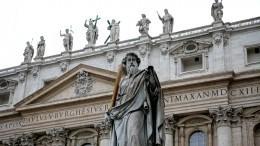 Ватикан неподдерживал предоставление автокефалии Украинской Православной церкви