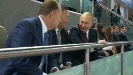 Владимир Путин прибыл наЧМподзюдо вБаку