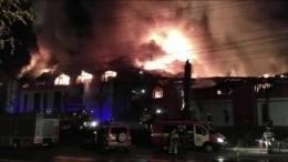 Пожар в«Мебель-Сити» вИркутске локализован наплощади 6,8 тысячи квадратных метров