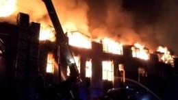 ВИркутске потушили пожар в«Мебель-Сити», выгорело 7 тысяч квадратных метров