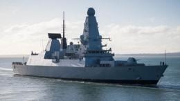 Британский эсминец «Даймонд» вошел вакваторию Средиземного моря
