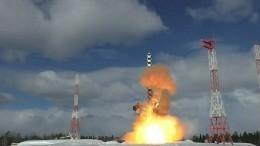 ВМинобороны раскрыли подробности испытаний ракеты «Сармат»