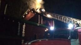 Видео: ВСвердловской области сгорел храм наместе уничтожения останков царской семьи