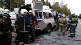 Число жертв страшной аварии савтобусами вТверской области возросло до13