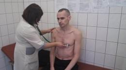 Украинский омбудсмен подтвердила, что Олег Сенцов прекратил голодовку