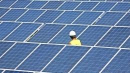 Опубликовано видео первой солнечной электростанции вЧернобыле