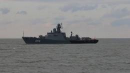 Корабли Каспийской флотилии нанесли сокрушительный удар поцелям— видео