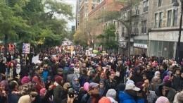 Тысячи человек вышли протестовать против закона озапрете религиозной одежды вМонреале