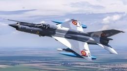 Маневры румынского МиГ-21 поразили американцев