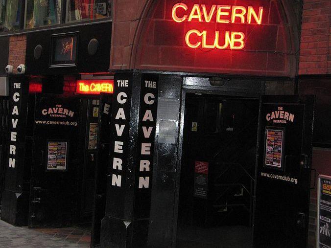 Вход в Cavern club, Ливерпуль, наши дни