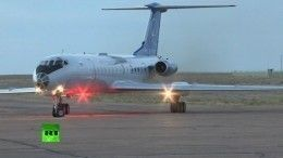 Экипаж аварийного «Союза МС-10» доставлен на«Байконур»— видео