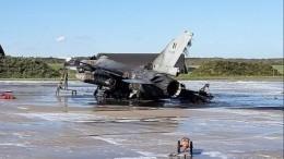 Механик случайно подорвал истребитель F-16 набельгийской авиабазе