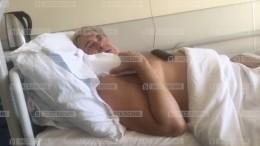 Видео избольницы, где проходит лечение Юрий Стоянов