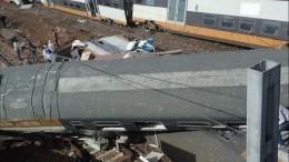 Десять человек погибли, 90 пострадали врезультате крушения поезда вМарокко