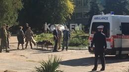 Появились новые кадры сместа взрыва вКерчи