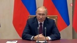 Мотивы преступления вКерчи тщательно изучаются— Путин