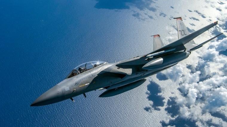 При ошибочном ударе F-15 вСирии погибло 6 курдов