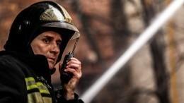 Площадь пожара назаводе воВладикавказе увеличилась до4500 квадратных метров