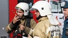 Второй завод воВладикавказе охватил серьезный пожар