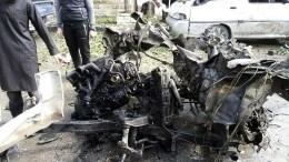 ВИдлибе врезультате взрыва погибли 6 человек, включая ребенка— жуткое видео