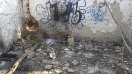 Заметая следы: керченский убийца закопал сейф для хранения оружия