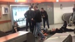 Обрушение эскалатора перед матчем ЦСКА— «Рома»: прямая трансляция сместа