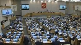 Госдума приняла впервом чтении проект бюджета до2021 года