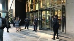 ВНью-Йорке эвакуировали небоскреб Time Warner Center