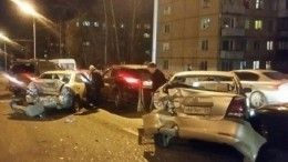 Видео: Автобус ишесть легковушек столкнулись вИркутске