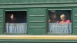 НаКубани восстановили движение поездов наперегоне Шепси— Водопадный