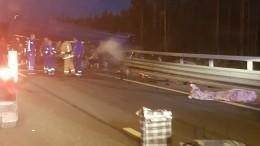 6 человек погибли встрашной аварии сфурой имикроавтобусом наЗСД