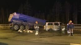 Стало известно имя водителя фуры, выжившего встрашной аварии наЗСД