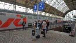 ВМоскву после возобновления движения прибыл первый поезд изКраснодарского края