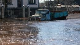 Число пострадавших врезультате наводнения наКубани увеличилось вдвое