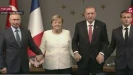 Саммит вСтамбуле стал первой встречей современ начала операции РФвСирии