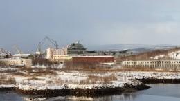 «Адмирал Кузнецов» предварительно неповрежден при ЧПсплавдоком