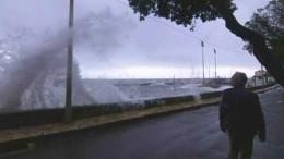 Италия уходит под воду— шокирующие кадры