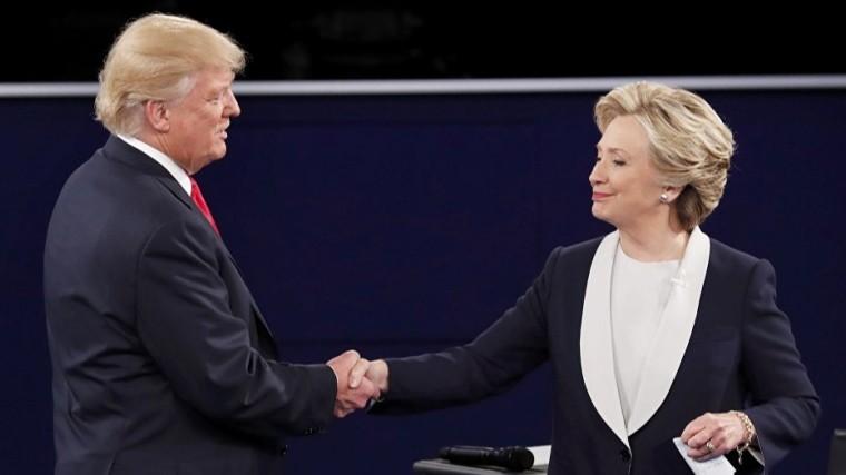 Трамп готов «сразиться» сХилари Клинтон навыборах в2020 году