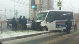 Восемь человек пострадали вДТП сучастием маршрутки вКалуге